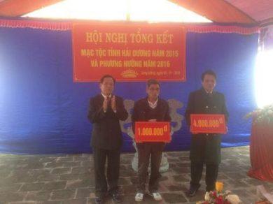 Bác Hồ kể chuyện lịch sử  nhà Mạc ở Cao Bằng