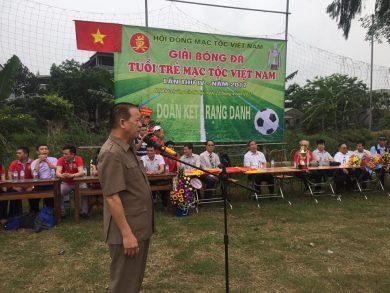 Tp Hà Nội đã diễn ra Giải bóng đá Tuổi trẻ Mạc tộc Việt Nam lần thứ IV