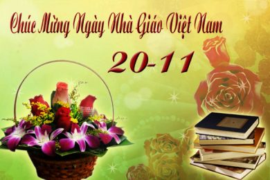 (Tiếng Việt) LỜI CHÚC MỪNG NGÀY NHÀ GIÁO VIỆT NAM