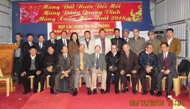 (Tiếng Việt) CÁC DÒNG HỌ  TRÊN ĐỊA BÀN THÀNH PHỐ HẢI PHÒNG HỌP BÀN VỀ PHỐI HỢP HOẠT ĐỘNG DÒNG HỌ